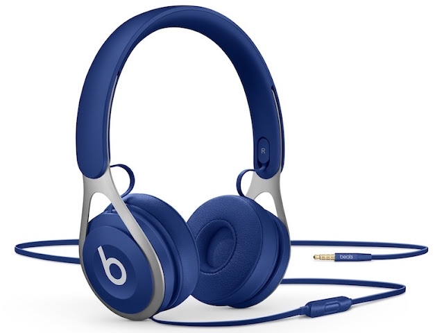 Beats ep headphones are battery-free, allowing unlimited playback with a hassle-free fixed cable.