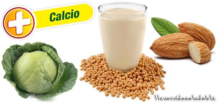 9 alimentos que contienen calcio