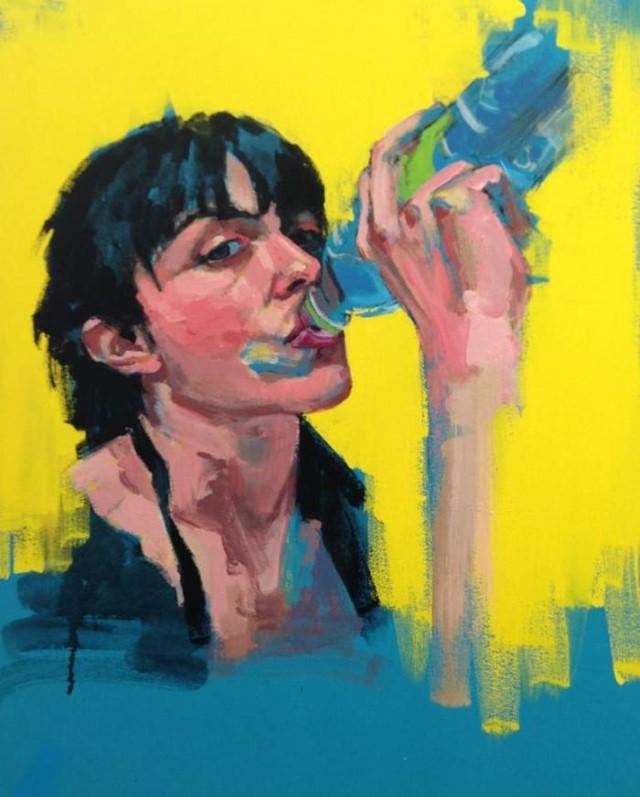 Греческая художница. Stella Kapezanou