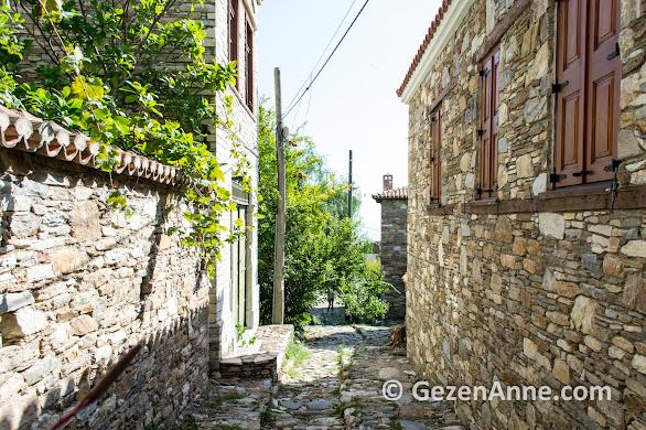 Doğanbey köyü taş sokakları, Söke