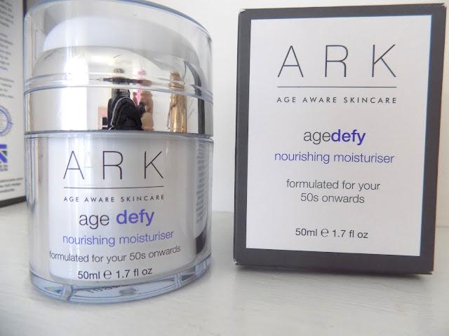 ARK Agedefy Brightening Cleanser + Nourishing Moisturiser