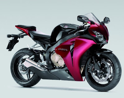 sport bike by Honda
