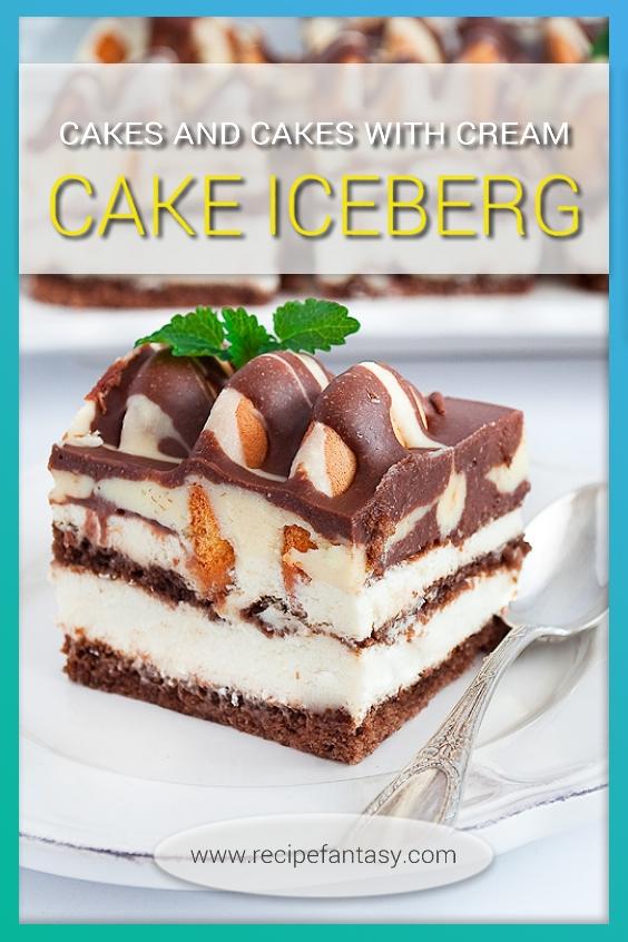 Cake Iceberg - Cake of Ice Mountain