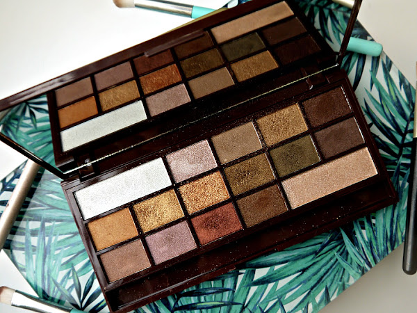 I HEART MAKE-UP 'GOLDEN BAR' PALETTE // REVIEW + SWATCHES