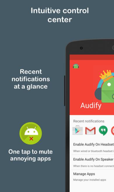 Resultado de imagem para Audify Notification Reader Premium