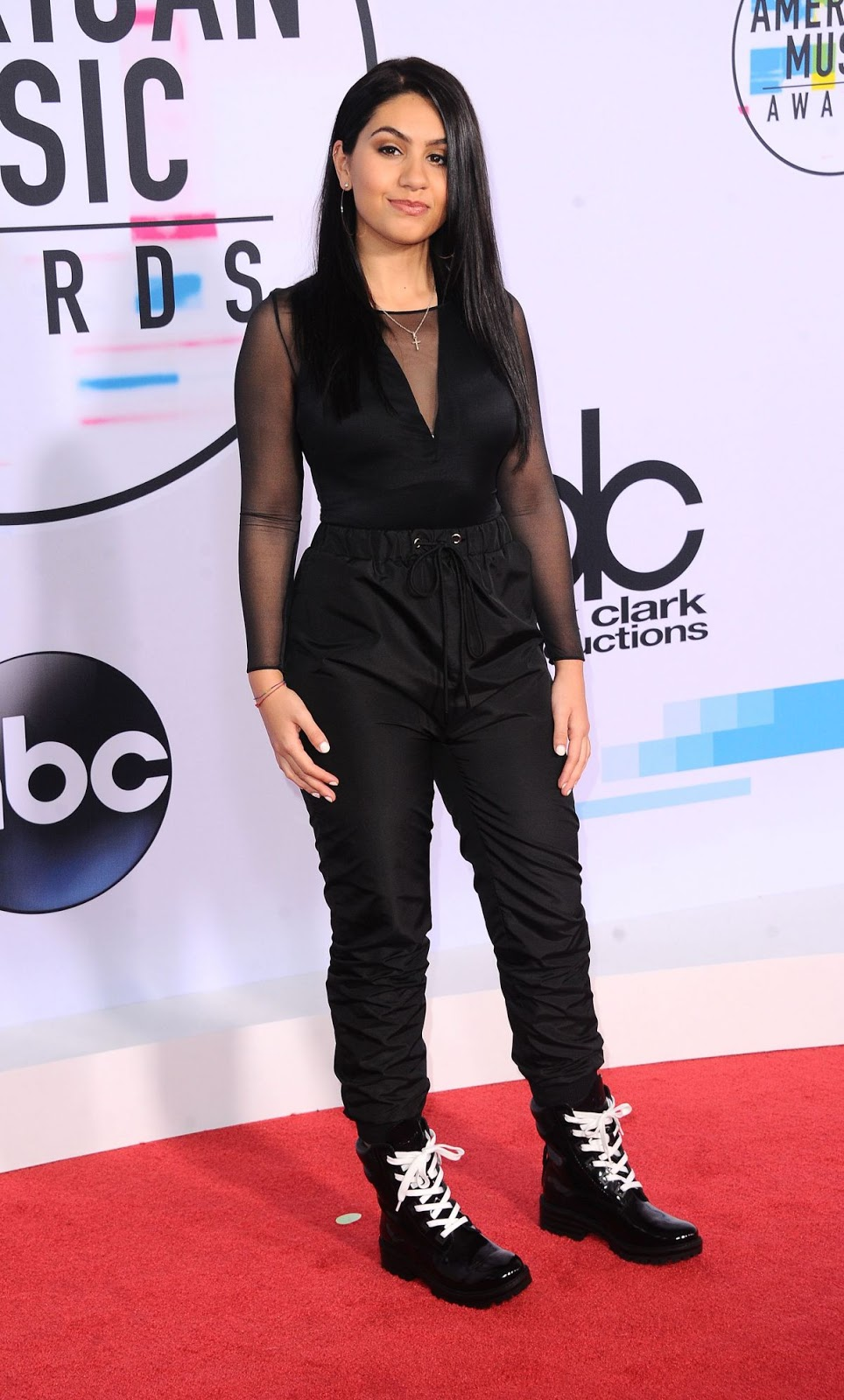 Alessia Cara at American Music Awards 2017 at Microsoft Theater in Los Angeles