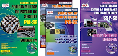 apostila Concurso PM Sergipe para Soldado - Edital PMSE 2018