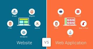 اليك الفرق بين مواقع الويب وتطبيقات الويب