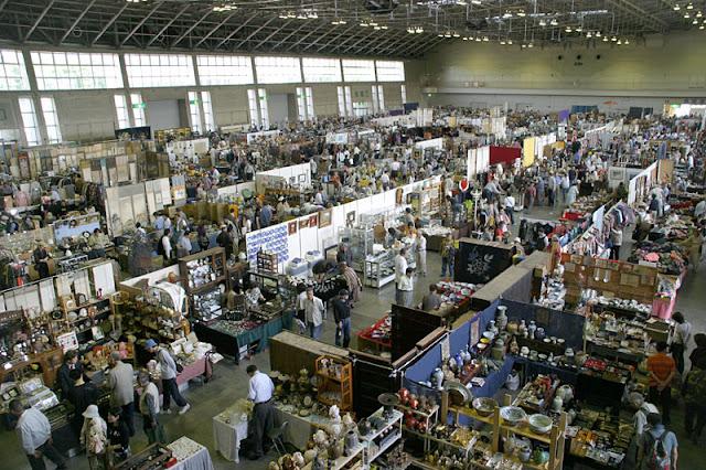 Nagoya Antique Fair at Fukiage Hall, Nagoya City, Aichi