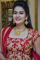 Jenny Honey in Stunning Dark Red Anarkali Dress at Splurge   Divalicious curtain raiser ~ Exclusive Celebrities Galleries 014.JPG