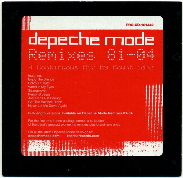 Sucessos De Sempre Depeche Mode Remixes 81 04