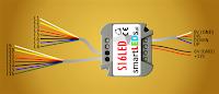 Wyprowadzenia sterownika schodowego LED S16LED smartLEDs.