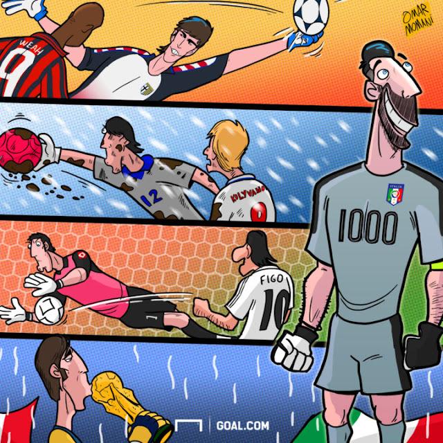 Gianluigi Buffon cartoon