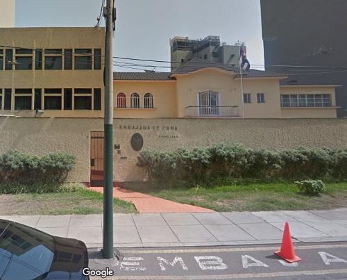 Consulado de Cuba en Lima