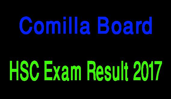Comilla Board HSC Result 2017