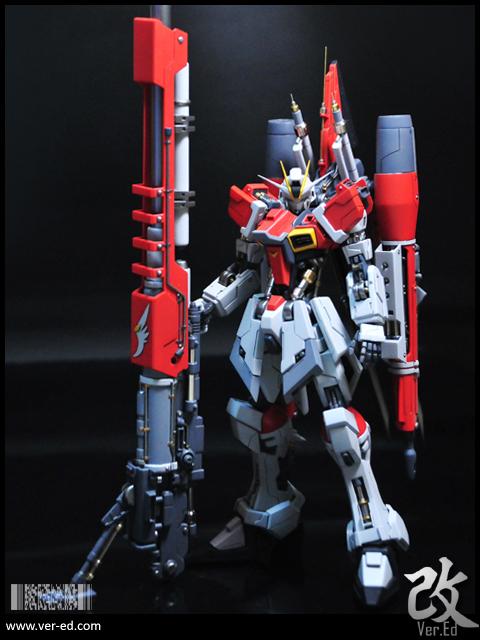 Hg 1 144 Sword Impulse Gundam Customized Build Gundam