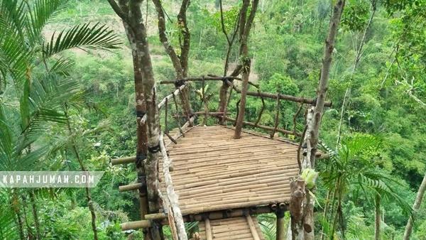 Lokasi Munduk Asri di Desa Kerta Payangan