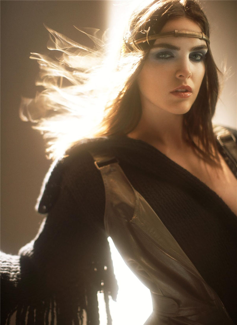 Hilary Rhoda Harper S Bazaar Us 2007 Models Inspiration
