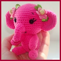 Elefantito amigurumi