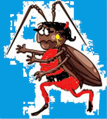 La cucarachita vuela y va a la escuela