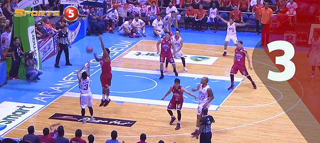 Top 5 Plays from Game 3 of the 2016 PBA Governors' Cup Finals (VIDEO)