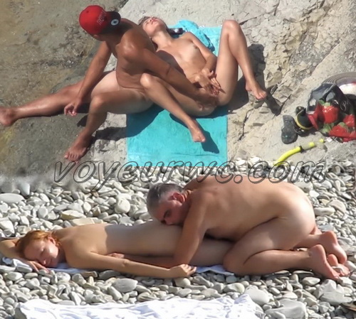 BeachHunters Sex 16323-16419 (Nude Beach Sex Voyeur)