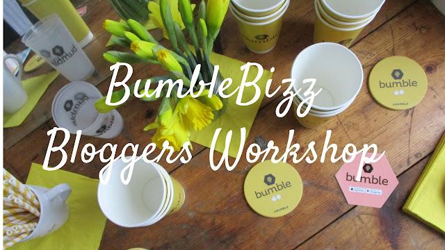 Bumble Bizz Bloggers Workshop