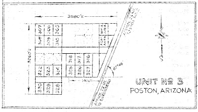 POSTON PRESERVATION PROJECT UPDATES: Maps of the blocks