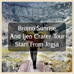 Bromo Sunrise And Ijen From Jogja