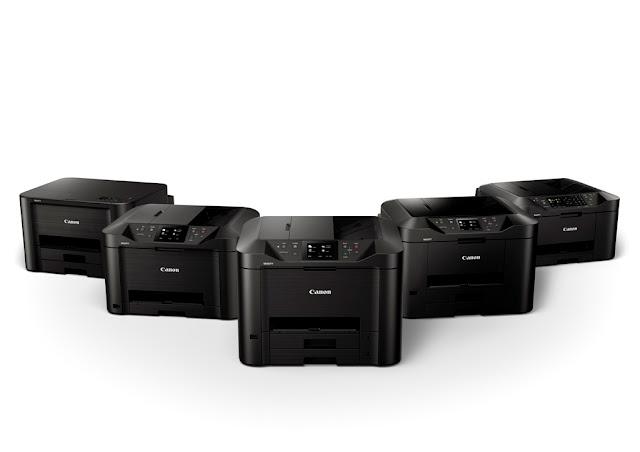 Canon lanza nueva serie de impresoras inalámbricas de inyección de tinta