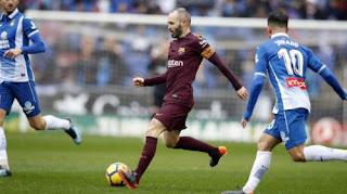 Espanyol vs Barcelona 1-1 Highlights Video Goals