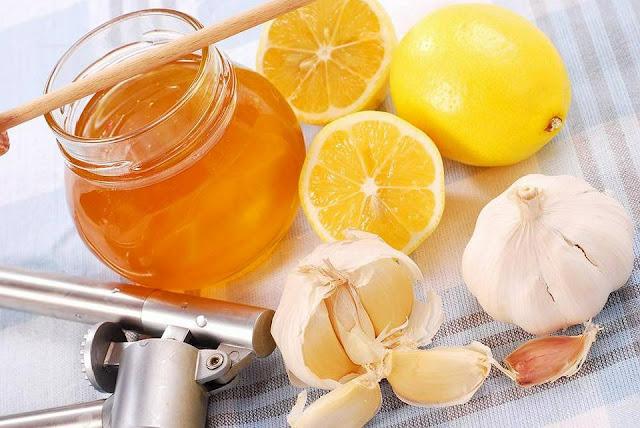 علاج انسداد الشرايين بالثوم والليمون