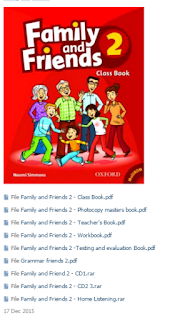 FAMILY AND FRIENDS 2 OXFORD CLASSBOOK, WORKBOOK, TEACHER'S BOOK,  PHOTOCOPY MASTER BOOK, TESTING AND EVALUATION BOOK, CDS