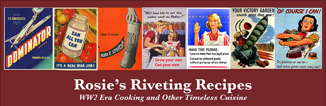 Rosies Riveting Recipes