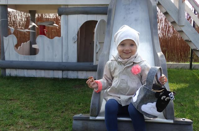 Koszyczek dla dziecka wielkanocny baranek