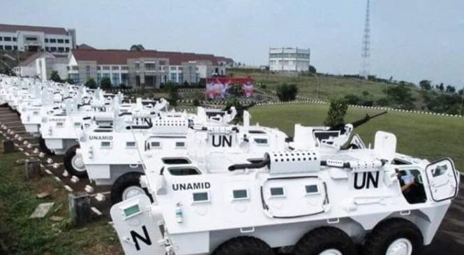 Kontingen Pasukan Garuda PBB Dapat Kiriman 80 Unit Panser Anoa 6x6