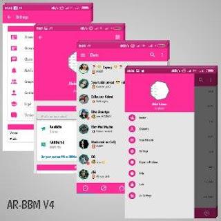 BBM MOD AR V4 Base BBM 3.2.0.6 Apk