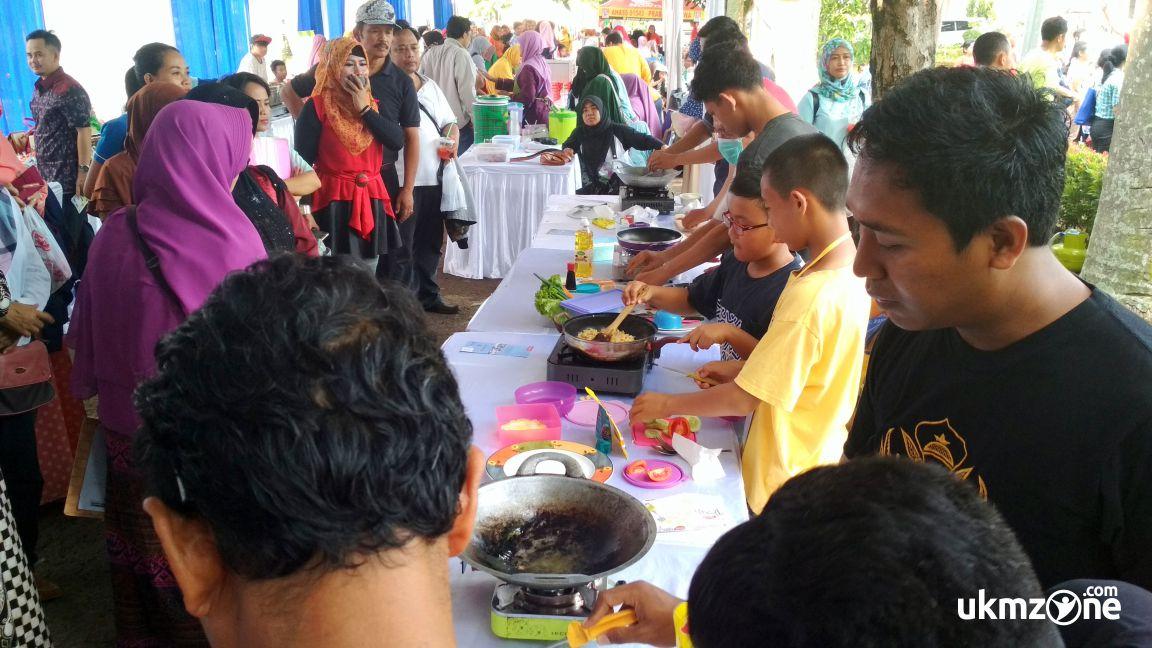 Lomba memasak acara PANMAS FAIR 2018