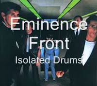 Eminence Front isolated drums image