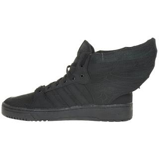 Adidas Originals JS Wings 2.0 Black Flag Jeremy Scott Sneaker Schuh Schuhe schwarz