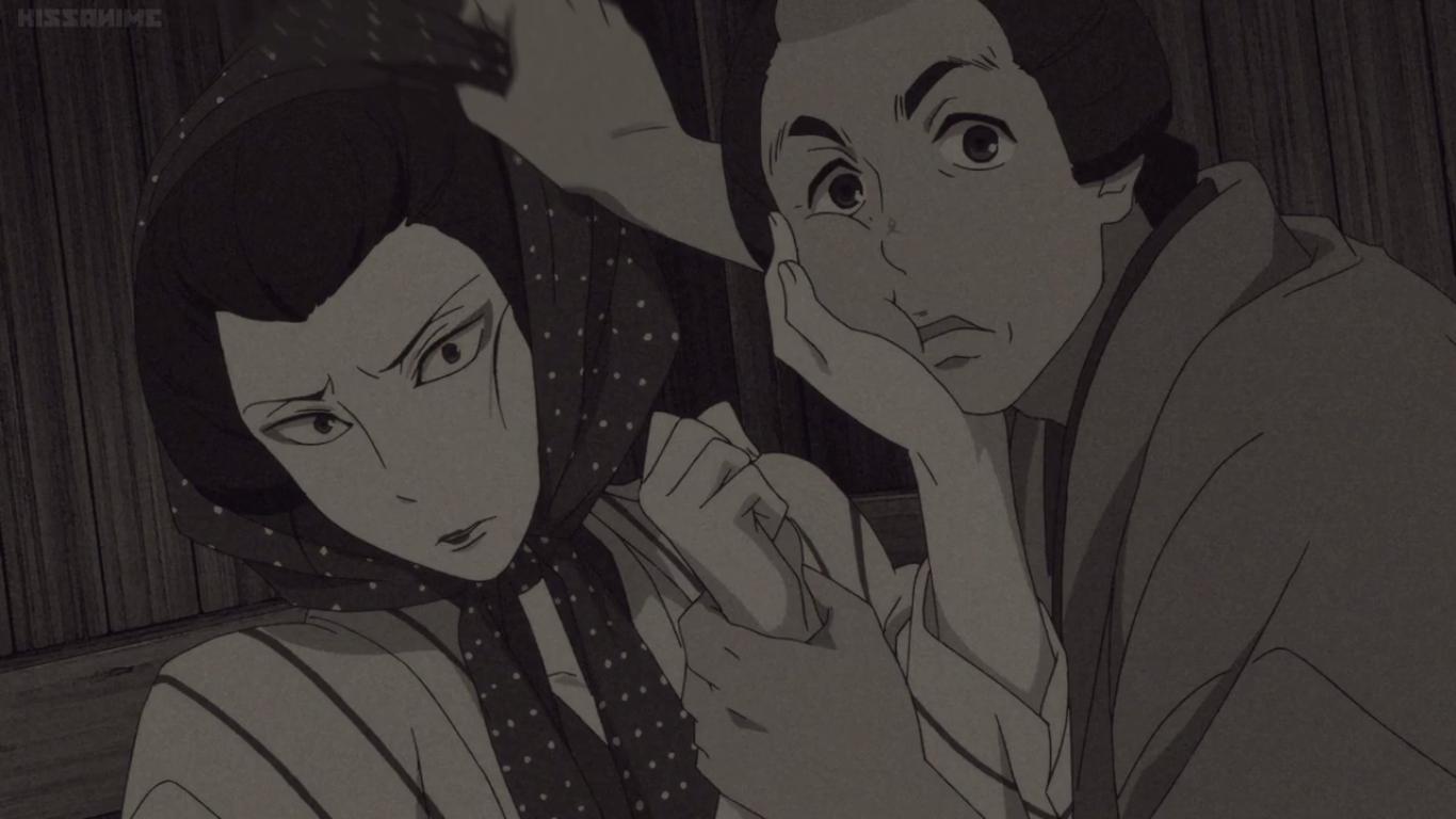 Newtype Evolution Shouwa Genroku Rakugo Shinjuu Episodio 5
