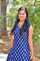 Tamil Actress Amritha Pos in Blue Long Dress at Padaiveeran Tamil Movie Audio Launch  0007.jpg