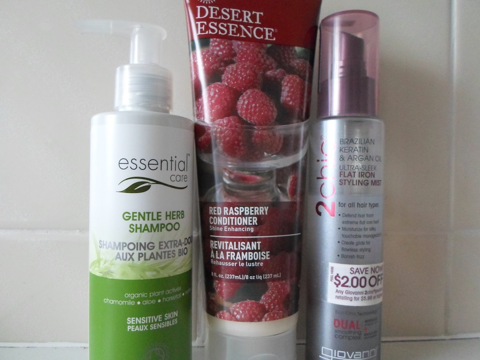 Haircare Essential Care, Desert Essence & Giovanni