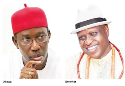 Chief O'tega Emerhor of All Progressive Congress (APC), challenging the election victory of the state governor, Dr. Ifeanyi Okowa
