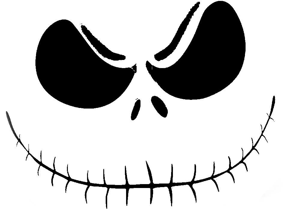jack skellington face template free printable jack skellington pumpkin carving stencil
