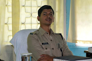 Bhola Nath Pandey additional SP Kalimpong