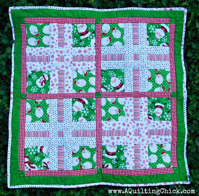 Dear Santa - Full Quilt - Grass
