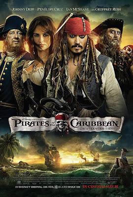 Poster Piratas do Caribe - Navegando em Águas Misteriosas Download via Torrent