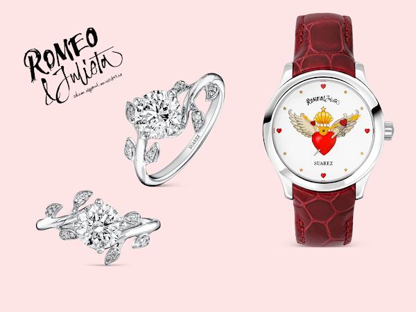 Joyas y relojes Suarez edición especial Romeo y Julieta