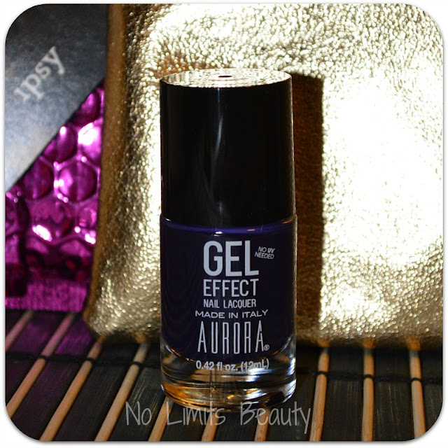 Ipsy Octubre 2015 - Aurora Gel Effect Nail Lacquer en Inky Dinky